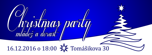 Christmas party mládeže a dorastu - 16.12.2016